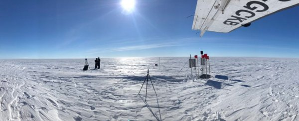 scientists drilled the deepest hole in the antarctica